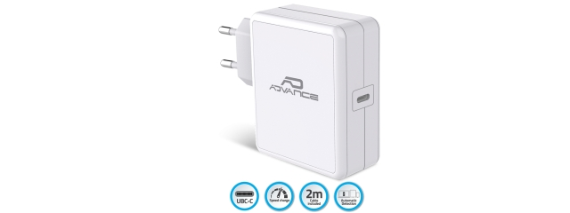 ADVANCE Chargeur mural USB-C 65W