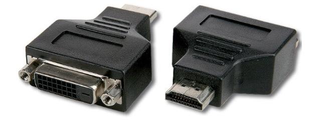 MICR-OS.COM Adaptateur HDMI / DVI-D