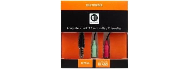 D2 Diffusion Splitter Jack 3.5mm