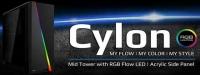 AEROCOOL Cylon RGB avec panneau vitré