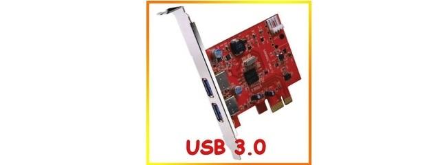 Advance Carte USB 3.0 en PCI-Express 1X
