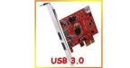 Advance Carte USB 3.0 en PCI-Express 1X