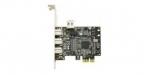 Dexlan Carte PCI-Express 1X FireWire 800 - IEEE1394B