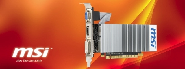 nVidia GT 710 en 1Go GDDR3