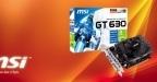 MSI GT 630 en 4Go