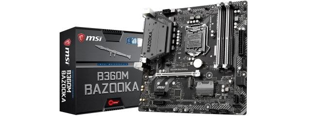 MSI B360M Gaming Pro Bazooka