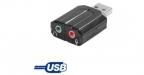 Dexlan Mini carte son stéreo USB 2.0