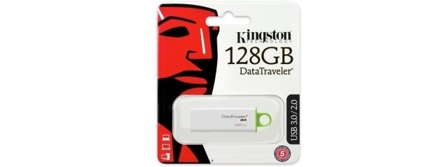 Kingston 128 Go DTI-G4 en USB 3.0