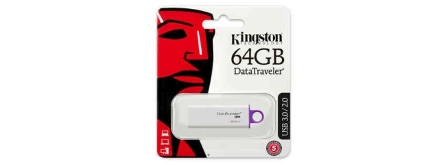 Kingston 64 Go DTI-G4 en USB 3.0