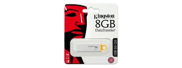Kingston 8 Go DTI-G4 en USB 3.0