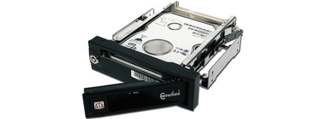 Connectland Rack disque dur 3'1/2