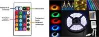 MICR-OS.COM Kit Ruban LED de 5 mètres multicolore