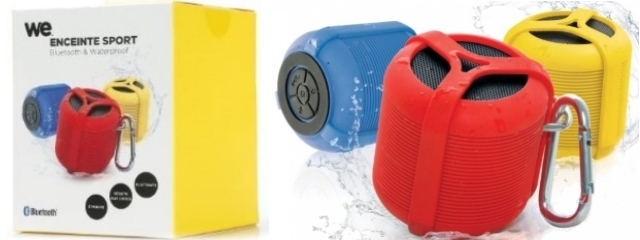 WE Enceinte sport Bluetooth