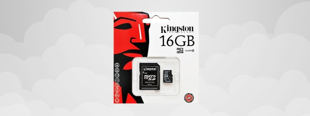 Kingston Micro SDHC 16Go