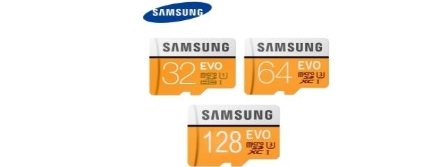 SAMSUNG Micro SDHC 64Go + Adaptateur