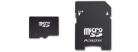 KINGSTON Micro SDHC 64Go + Adaptateur