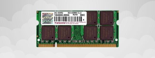 Transcend 2 Go SODIMM DDR2