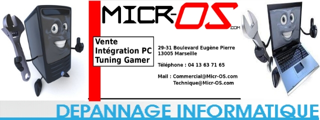 MICR-OS.COM Montage et Installation d'un nouvel ordinateur
