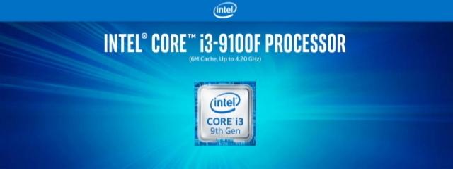 Intel Core i3 9100F sans iGPU