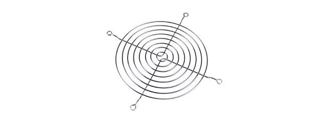 Grille ventilateur 8 cm