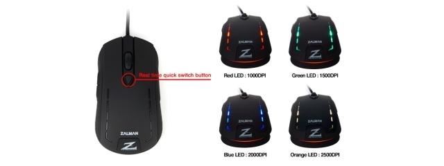 ZALMAN ZM-M401R Gaming Mouse