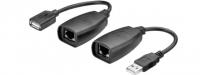 GOOBAY Convertisseur CAT 5/5a/6/USB 2.0