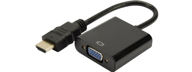 MICR-OS.COM Convertisseur HDMI en VGA